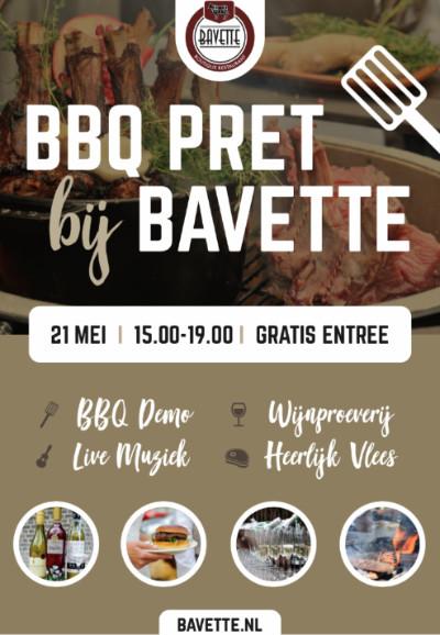 201804 BBQ pret bij bavette poster