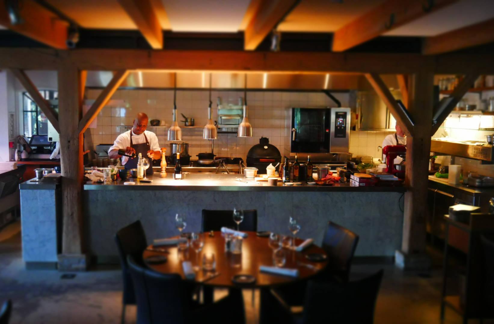 Keuken bavette Nieuwe kaart menukaart Maasland restaurant